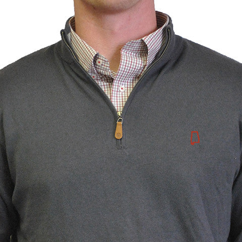 Alabama Tuscaloosa 1/4-Zip Pullover Grey