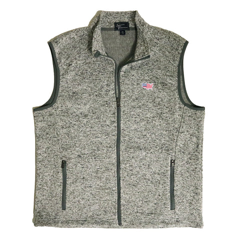 America Traditional Heather Sweater Vest