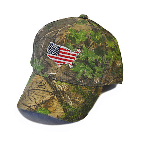 America Traditional Youth Hat Camo