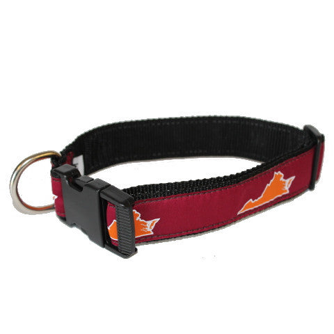 Virginia Blacksburg Gameday Dog Collar