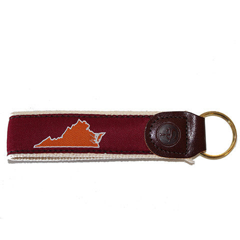 Virginia Blacksburg Gameday Key Fob