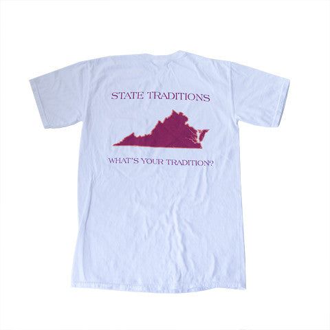 Virginia Blacksburg Gameday T-Shirt White
