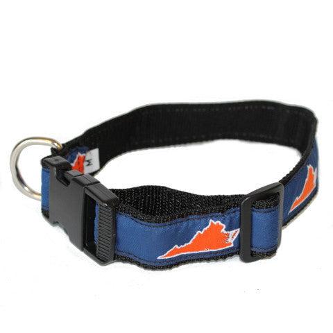 Virginia Charlottesville Gameday Dog Collar