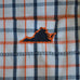 Virginia Charlottesville Gameday Boxers Blue and Orange