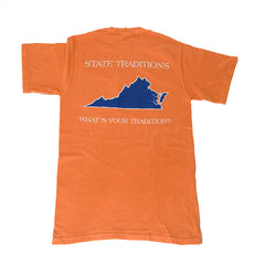 Virginia Charlottesville Gameday T-Shirt Orange