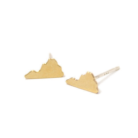 Virginia Earrings Gold