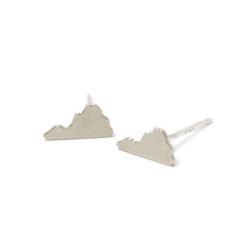 Virginia Earrings Silver