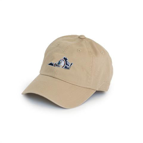Virginia Traditional Hat Khaki with State Seal