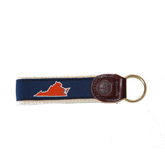 Virginia Charlottesville Gameday Key Fob