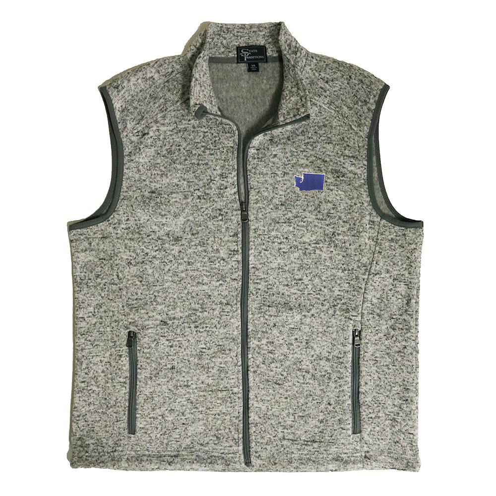 Washington Seattle Gameday Heather Sweater Vest