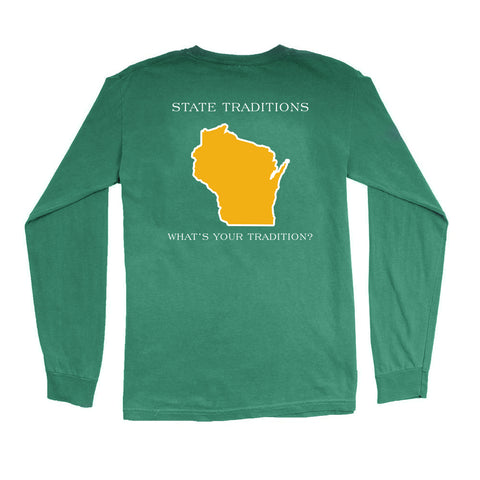 Wisconsin Green Bay Gameday Long Sleeve T-Shirt