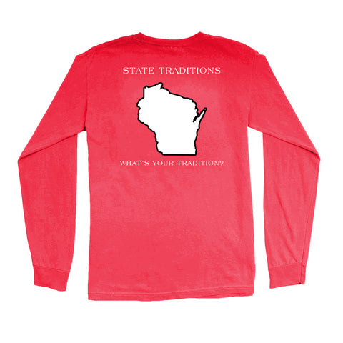 Wisconsin Madison Gameday Long Sleeve T-Shirt