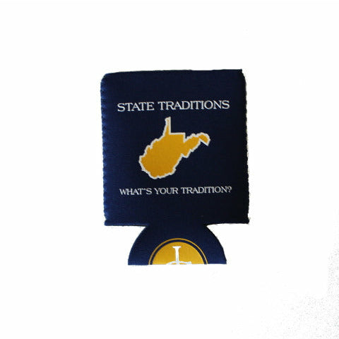 West Virginia Morgantown Gameday Koozie
