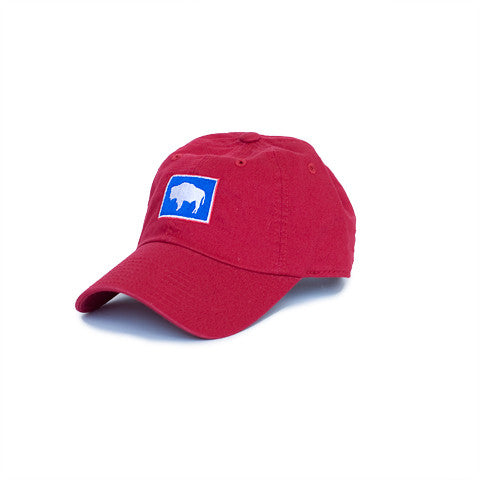 Wyoming Traditional Hat Red