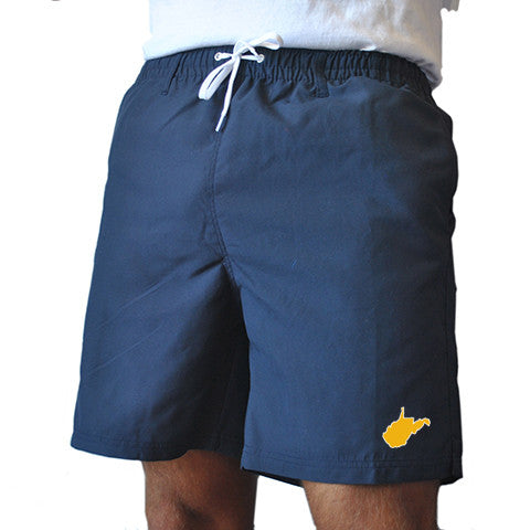 West Virginia Morgantown Gameday Swimwear Navy