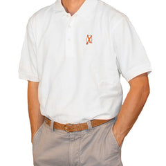 Alabama Auburn Traditional Polo White