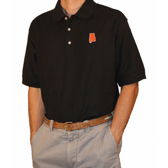Alabama Auburn Gameday Polo Navy