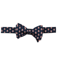 Alabama Traditional Bow Tie Navy