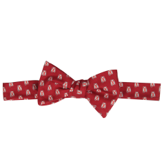 Alabama Traditional Bow Tie Red