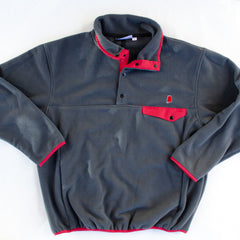 Alabama Tuscaloosa Gameday Fleece Pullover Grey and Crimson