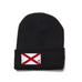 Black Beanie with Alabama Flag Patch