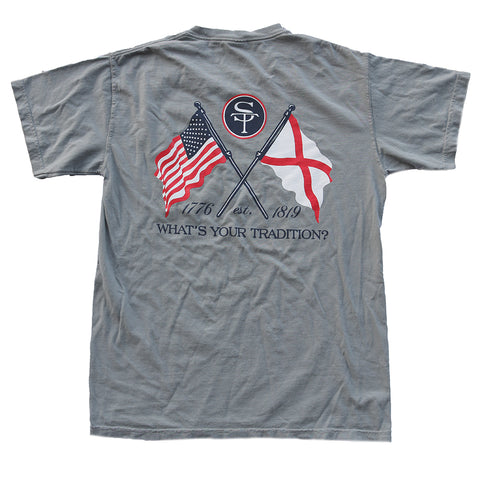 Alabama Heritage T-Shirt Grey