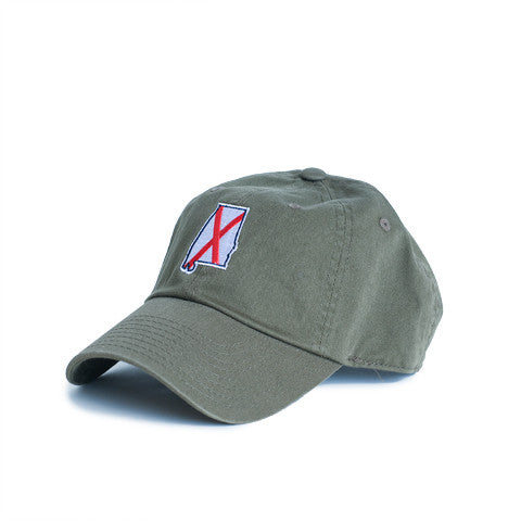 Alabama Traditional Hat Olive