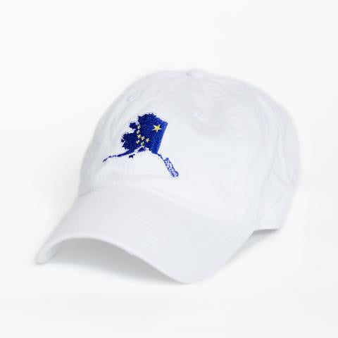Alaska Traditional Hat White