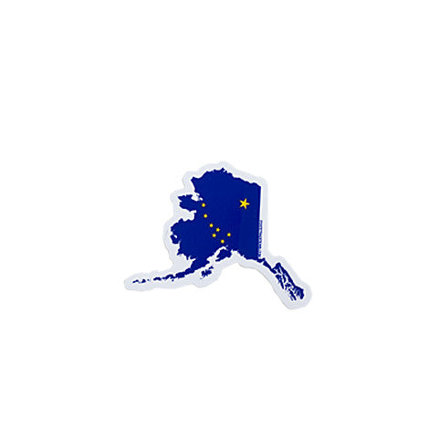 Alaska Traditional Sticker