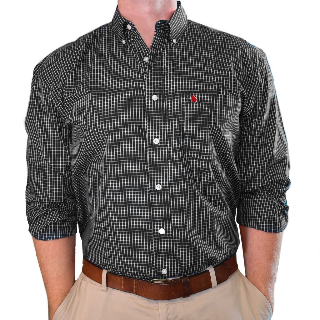 "Georgia Athens ""McDowell"" Buttondown"