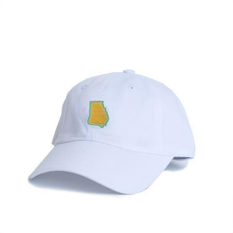 82707bbc0ae Georgia Augusta Hat White – State Traditions