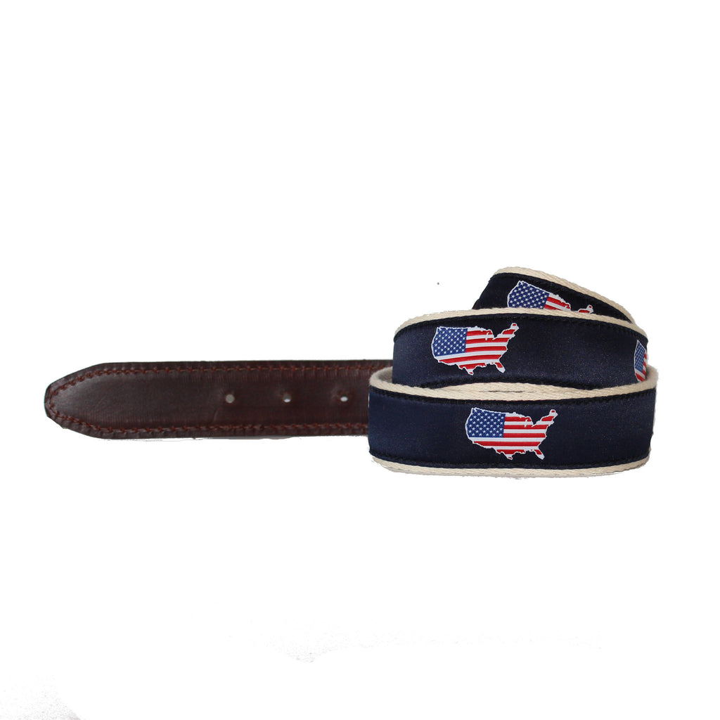 America Traditional Belt Navy
