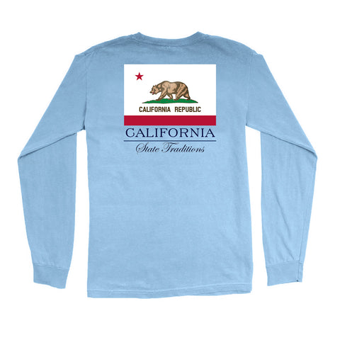 California State Flag Long Sleeve T-Shirt