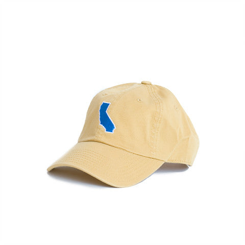 California Pasadena Gameday Hat Gold