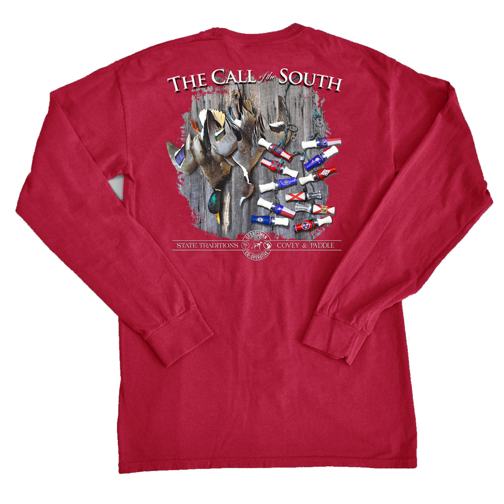 The Calls of The South Long Sleeve T-Shirt