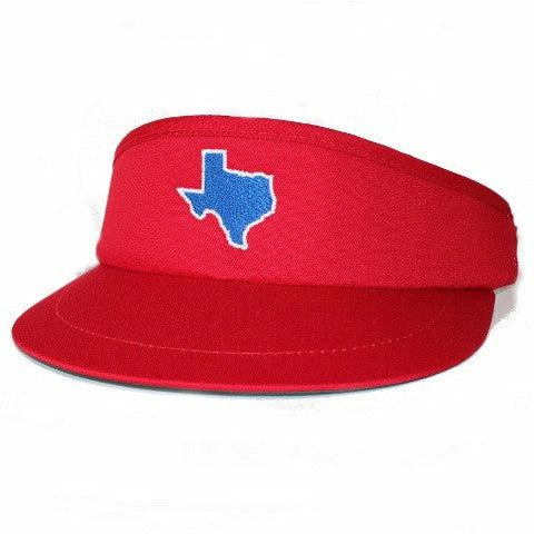 Texas Dallas Gameday Golf Visor Red