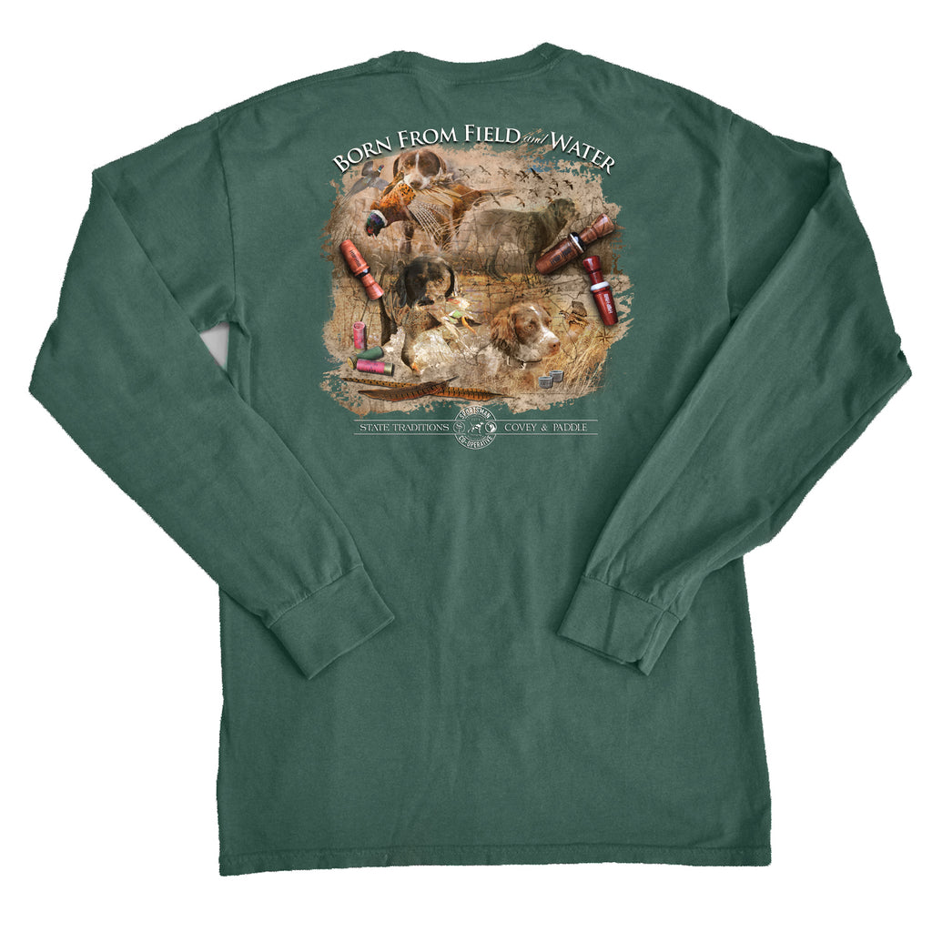 Born From The Field and Water Long Sleeve T-Shirt