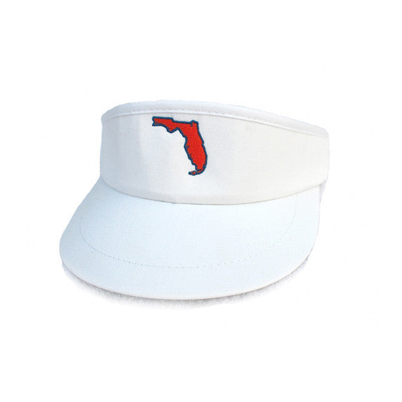 Florida Gainesville Gameday Golf Visor White – State Traditions 0cd8894deb3