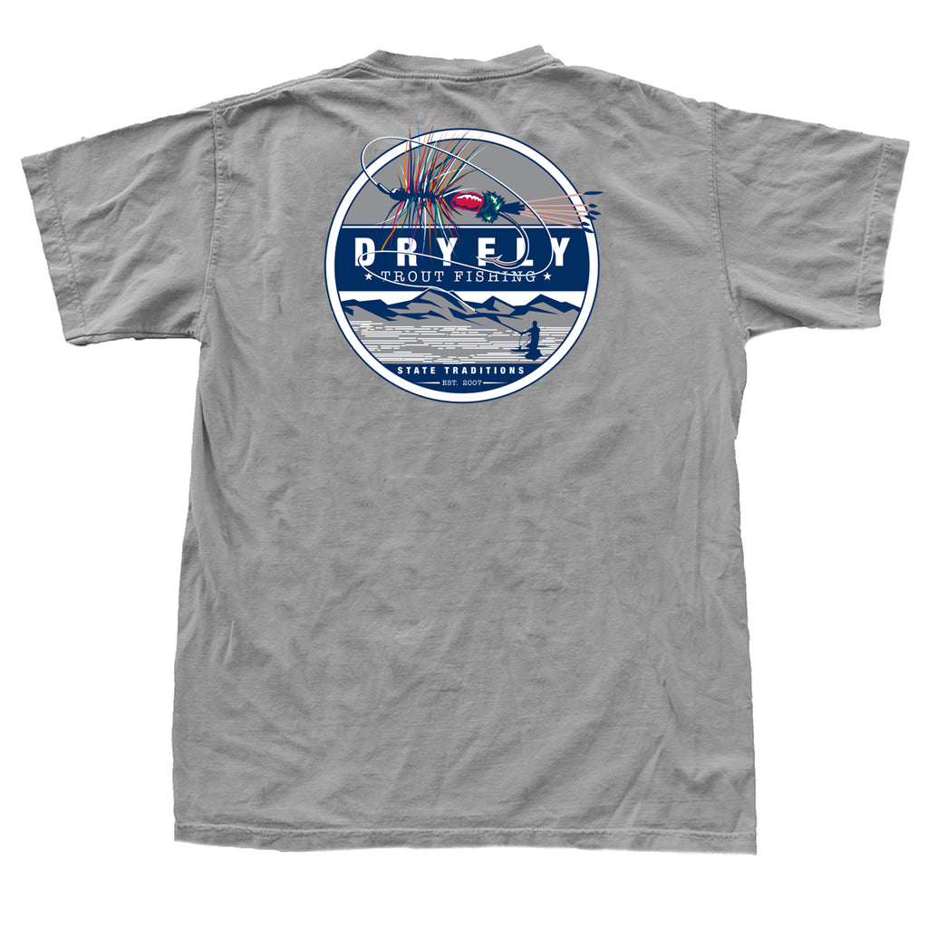 Dry Fly Trout Fishing T-Shirt