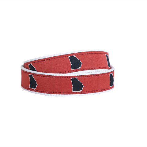Georgia Athens Gameday Belt