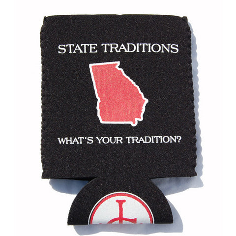 Georgia Athens Gameday Koozie Black