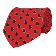 Georgia Athens Gameday Tie Red