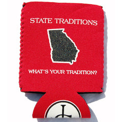 Georgia Athens Gameday Koozie Red