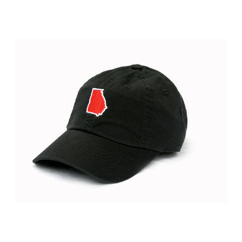 Georgia Athens Gameday Hat Black