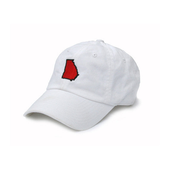 Georgia Athens Gameday Hat White