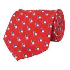 Georgia Traditional Tie Red