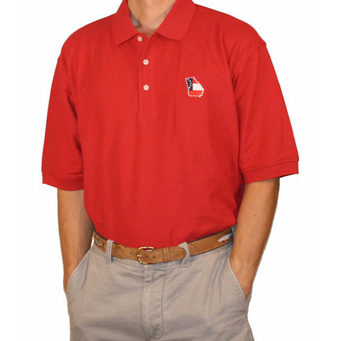 Georgia Traditional Polo Red