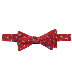 Georgia Traditional Bow Tie Red