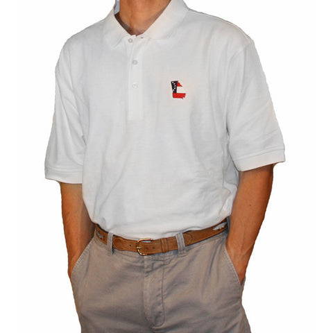 Georgia Traditional Polo White