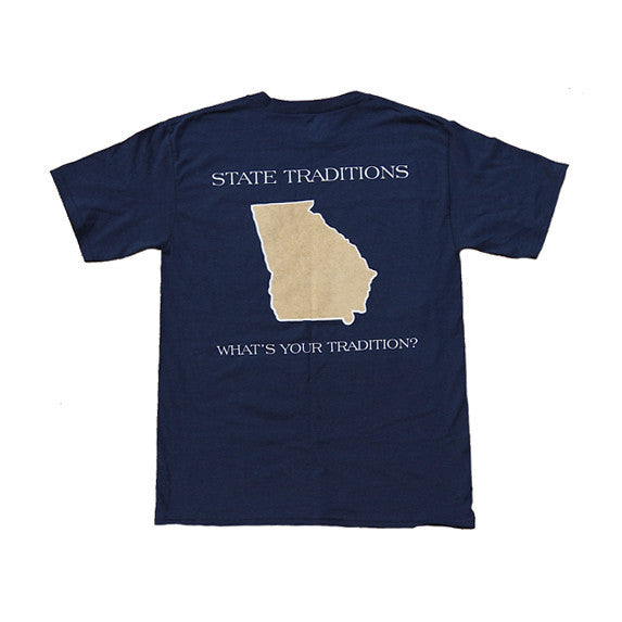 Georgia Atlanta Gameday T-Shirt Navy